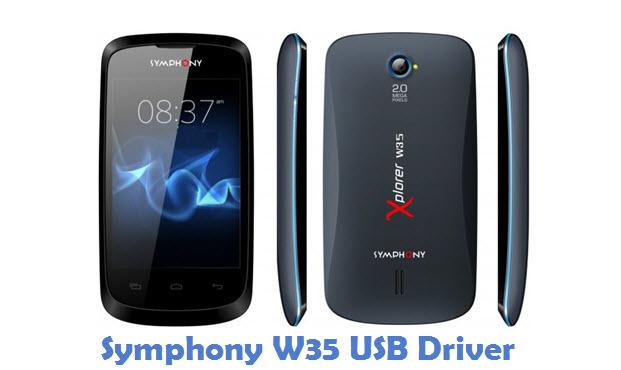 Symphony W35 USB Driver