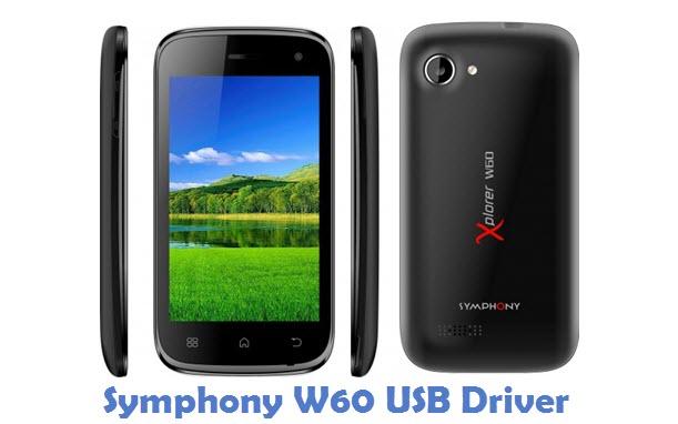 Symphony W60 USB Driver