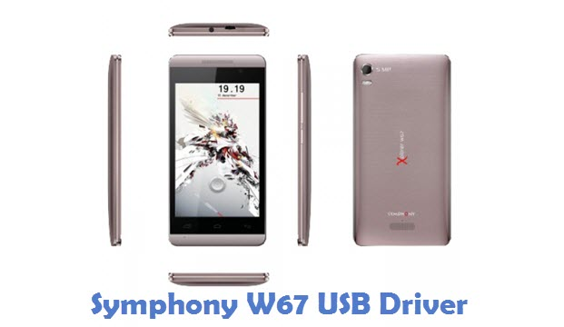 Symphony W67 USB Driver