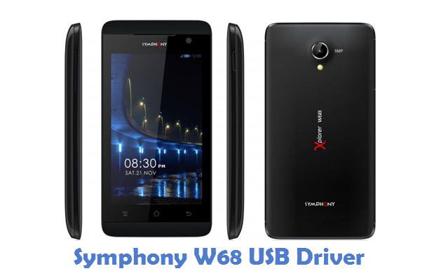 Symphony W68 USB Driver