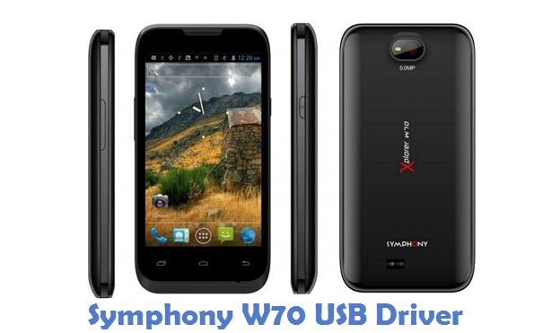 Symphony W70 USB Driver