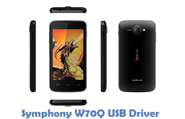 Symphony W70Q USB Driver