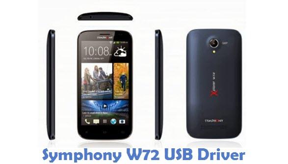 Symphony W72 USB Driver
