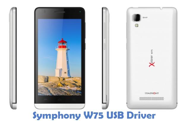 Symphony W75 USB Driver