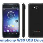 Symphony W80 USB Driver