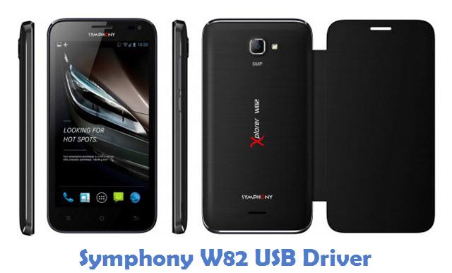 Symphony W82 USB Driver