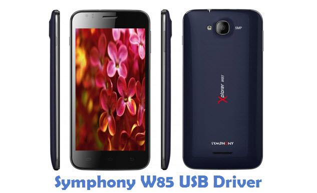 Symphony W85 USB Driver