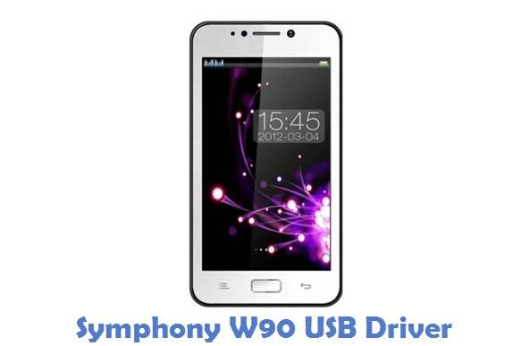 Symphony W90 USB Driver