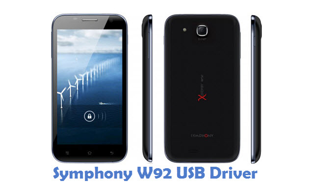 Symphony W92 USB Driver