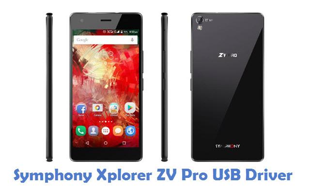Symphony Xplorer ZV Pro USB Driver
