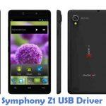 Symphony Z1 USB Driver
