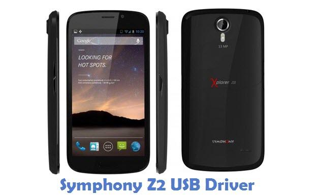 Symphony Z2 USB Driver