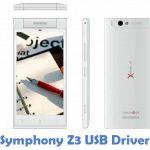 Symphony Z3 USB Driver