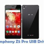 Symphony Z5 Pro USB Driver