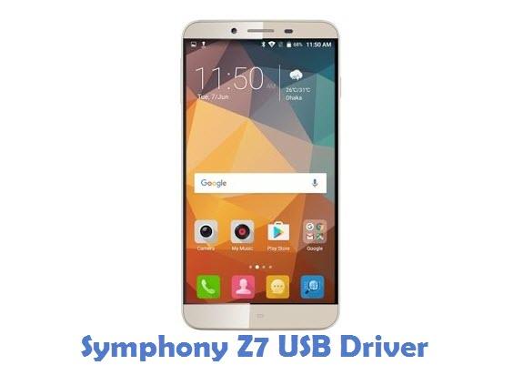 Symphony Z7 USB Driver