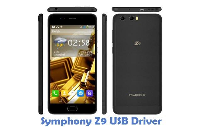 Symphony Z9 USB Driver