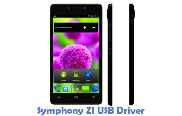 Symphony ZI USB Driver