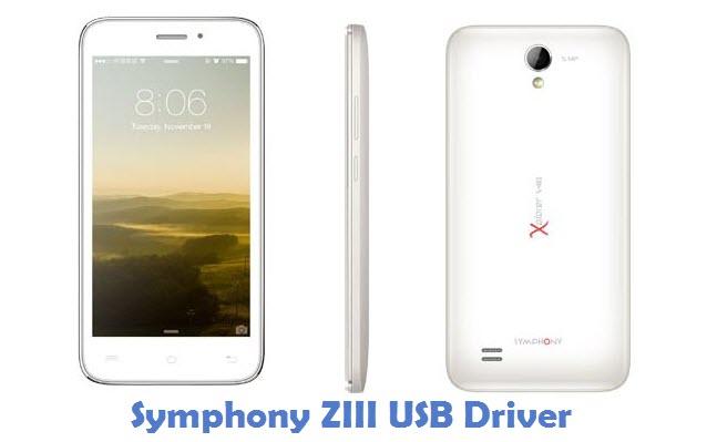 Symphony ZIII USB Driver