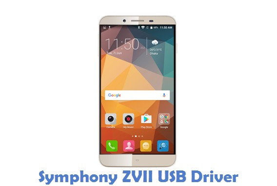 Symphony ZVII USB Driver