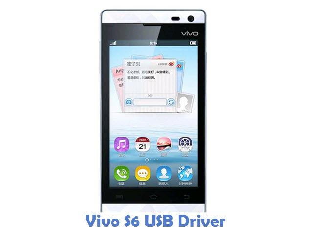 Vivo S6 USB Driver