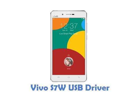 Vivo S7W USB Driver