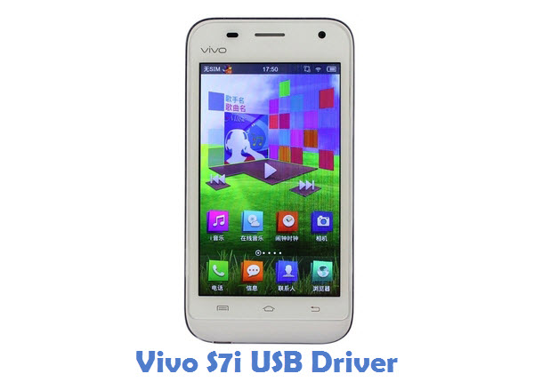 Vivo S7i USB Driver
