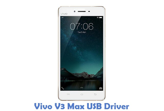Vivo V3 Max USB Driver