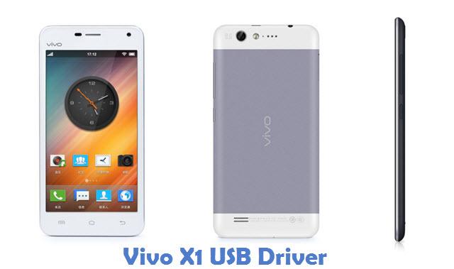 Vivo X1 USB Driver