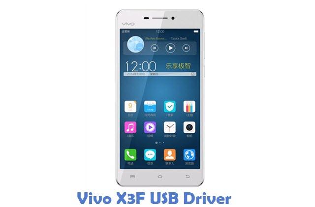 Vivo X3F USB Driver