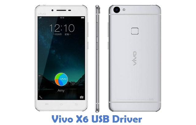 Vivo X6 USB Driver