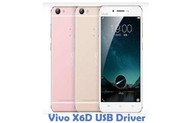 Vivo X6D USB Driver