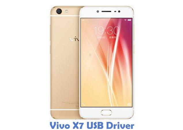 Vivo X7 USB Driver