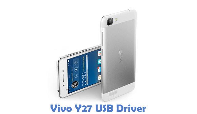 Vivo Y27 USB Driver