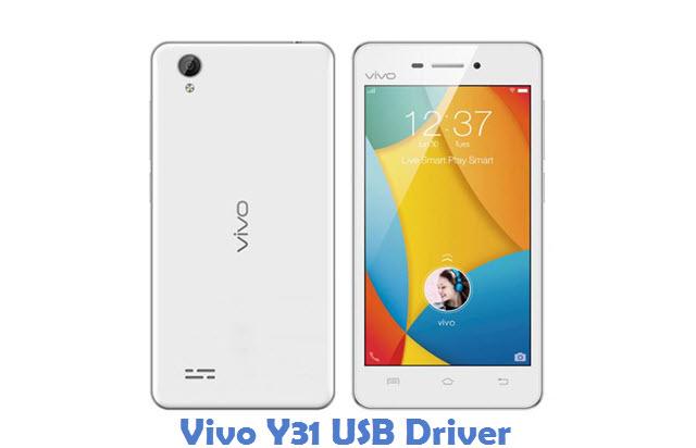 Vivo Y31 USB Driver