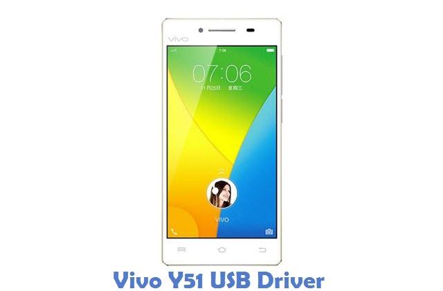 Vivo Y51 USB Driver