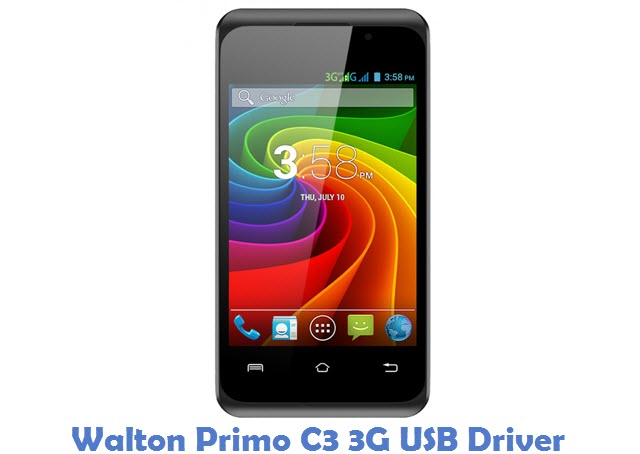 Walton Primo C3 3G USB Driver