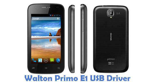 Walton Primo E1 USB Driver