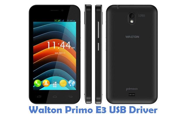 Walton Primo E3 USB Driver