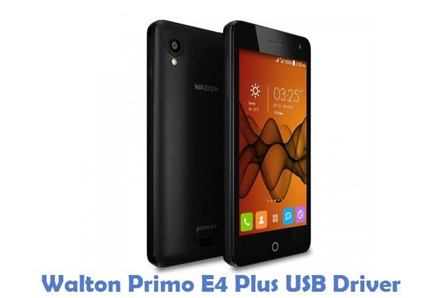 Walton Primo E4 Plus USB Driver