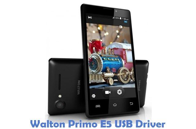 Walton Primo E5 USB Driver