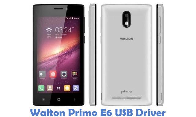 Walton Primo E6 USB Driver