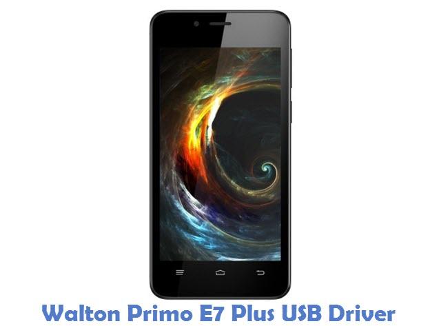 Walton Primo E7 Plus USB Driver