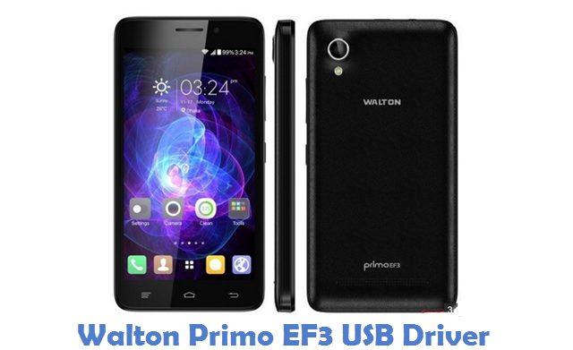 Walton Primo EF3 USB Driver