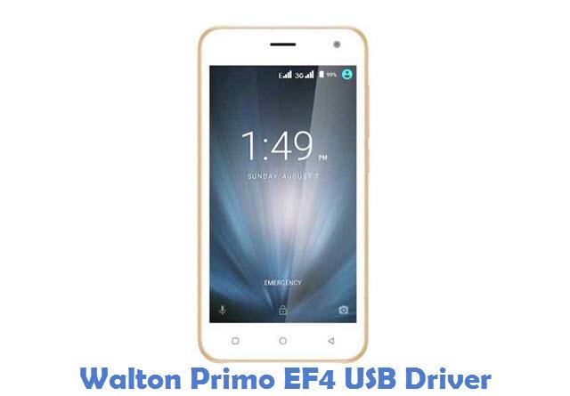 Walton Primo EF4 USB Driver