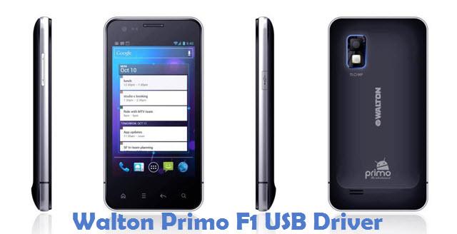 Walton Primo F1 USB Driver