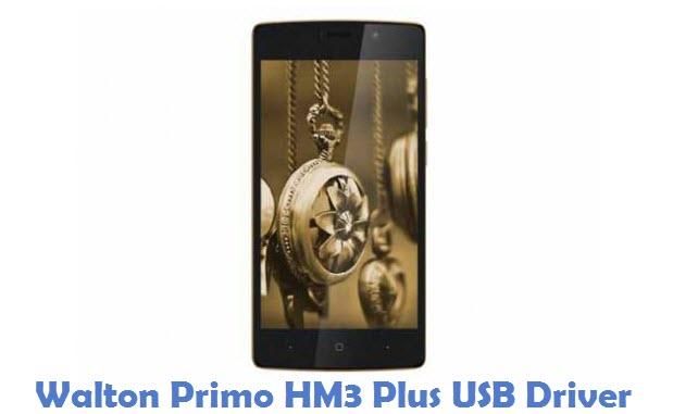 Walton Primo HM3 Plus USB Driver