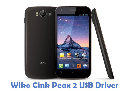 Wiko Cink Peax 2 USB Driver