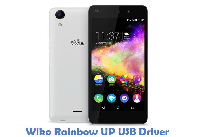 Wiko Rainbow UP USB Driver