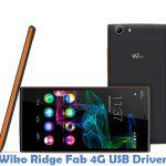 Wiko Ridge Fab 4G USB Driver