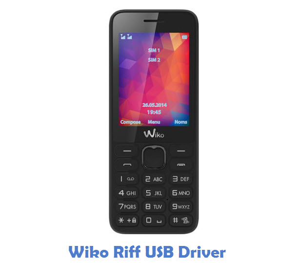 Wiko Riff USB Driver